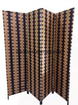 4-Folds Weave Divider Antique1