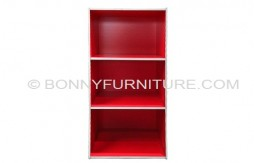 ST-300B 3L Colored Open Utility Cabinet (Red)