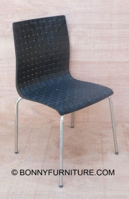 8065 Plastic Chair Black