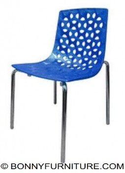 MSSGDBC 9108 Plastic Metal Chair (blue)