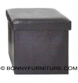 Savanna Foldable Stool Box (brown)