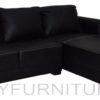 788c lshape sofa black