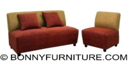cafe sofa set 311 red