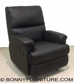 T070 Recliner Chair-Black