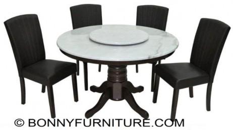 Dt 482ef Wg Dc 458br Wg 4 Seater Dining Set Bonny