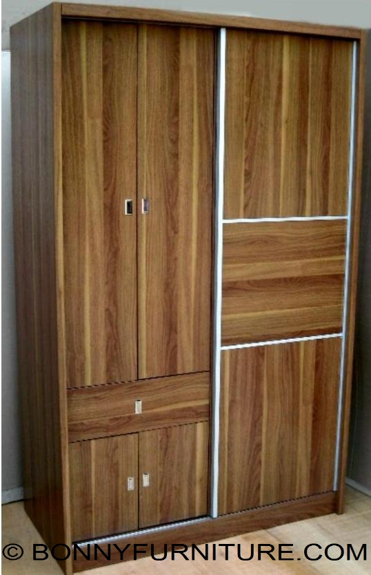 1 102sd Wardrobe Cabinet Sliding Doors With Drawer Bonny Furniture