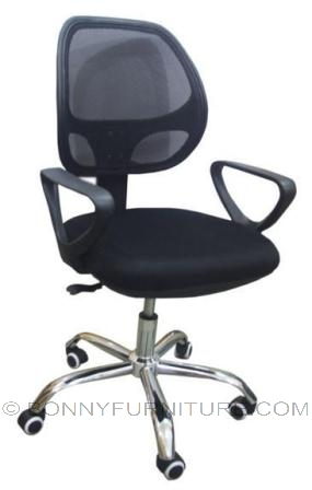 c-8178 office chair chrome