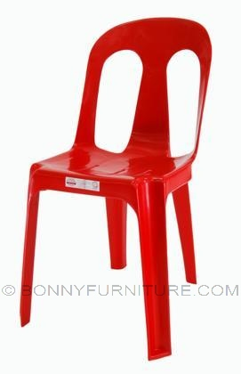 Plastic Chair Ruby 1 Cofta Red