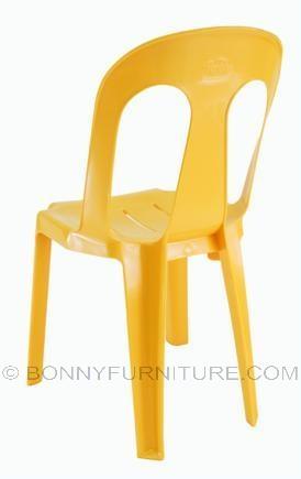 Orange Plastic Chair ruby 1 plastic chair (cofta) - bonny furniture