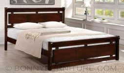 absalom wooden bed 48, 60, 72