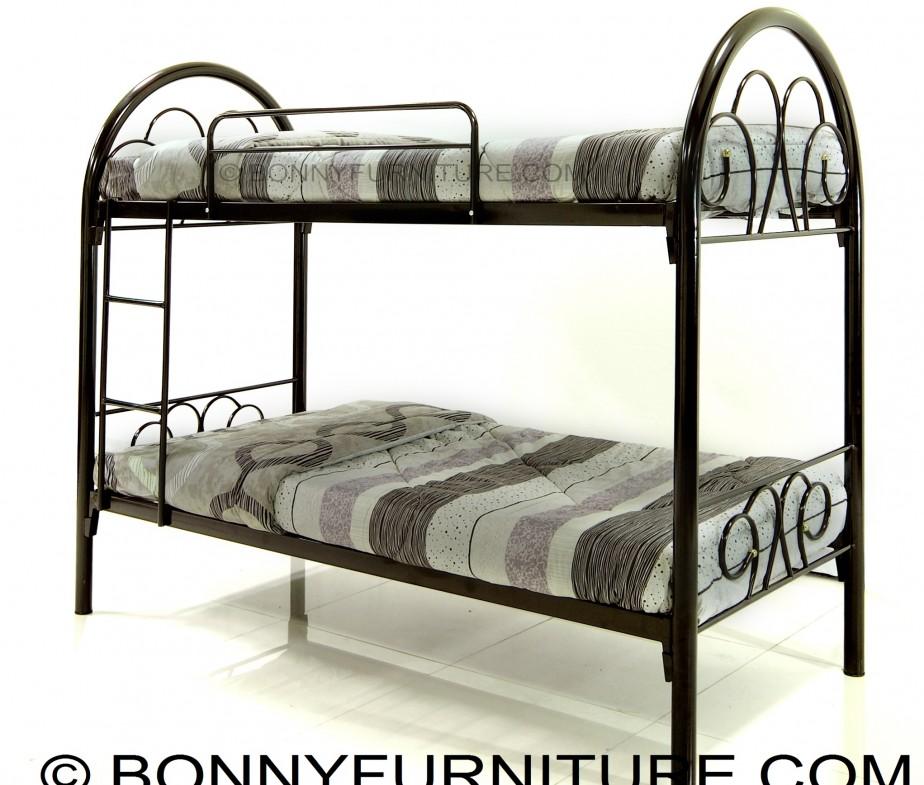 Cyprus Double Deck Steel Bed Single Size Bonny Furniture