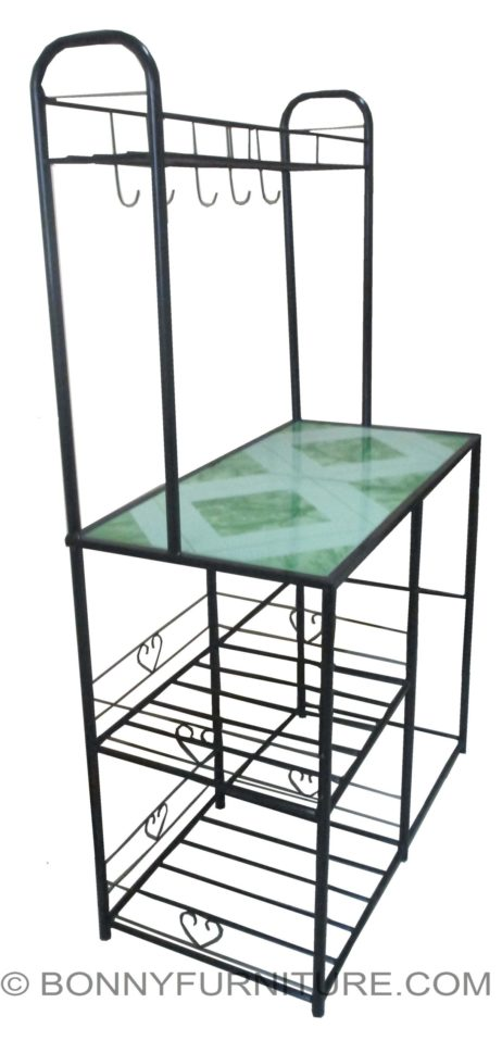 Stove Stand High With Tiles Bonny Furniture