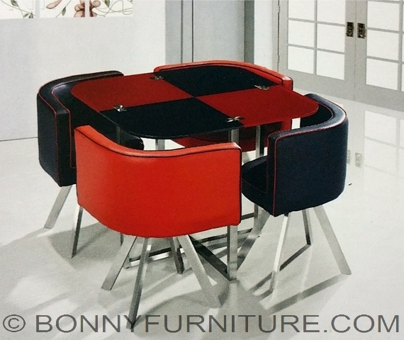 Ed 818 4 Seater Dining Set Bonny Furniture