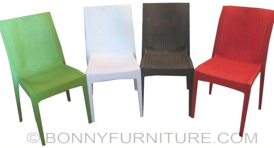 Rattan Plastic Chair Bonny Furniture