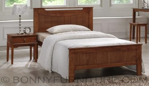 Sb 315 Wooden Bed Single Twin Double Queen Size Bonny