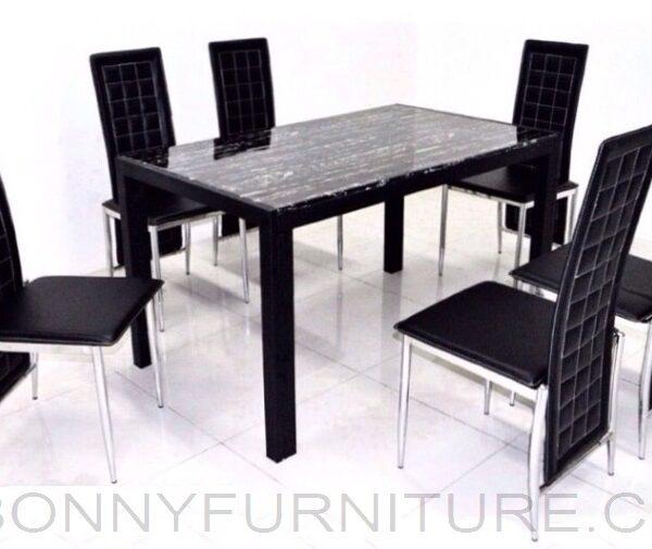 C 223 A 167 6 Seater Dining Set Bonny Furniture