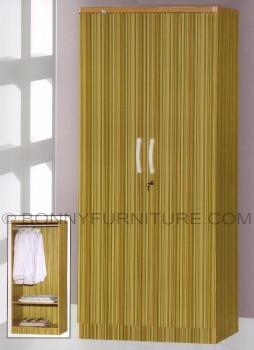 260 wardrobe cabinet 2-doors bamboo