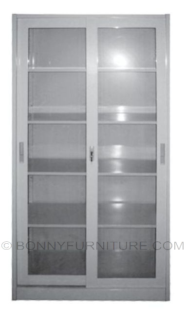 As 017 Glass Door Metal Cabinet Bonny Furniture