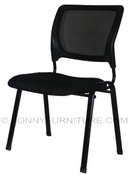 emvc 18 visitor chair mesh black
