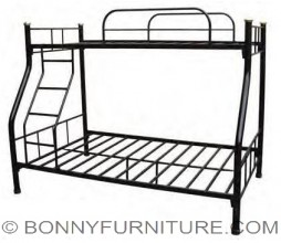 h-type bunker bed double deck