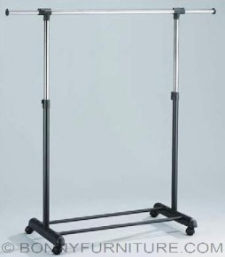 jit-3294 garment rack single pole