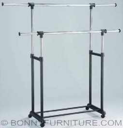 jit-3295 garment rack double pole