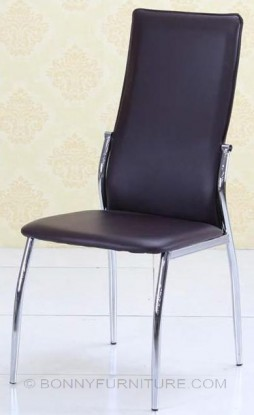 jit-a5 dining chair leatherette black