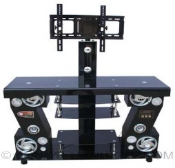 jit-tmtv63 tv stand with bracket with speakers