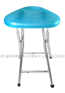 fs-100 folding stool translucent blue