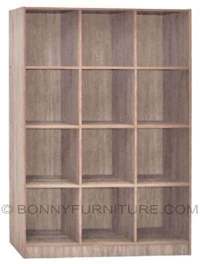 2055 open shelf bookshelf sonoma oak