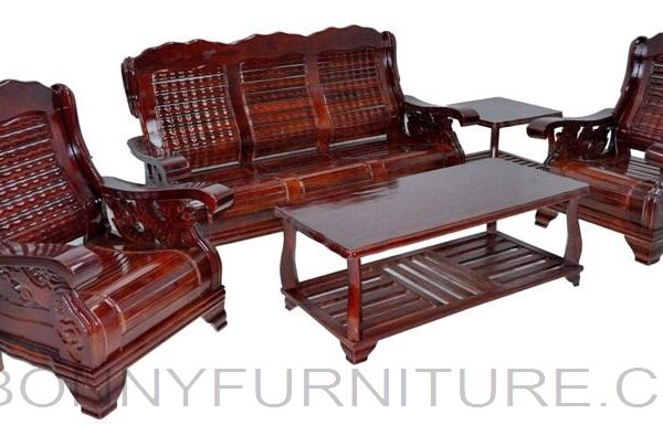 609 Wooden Sofa Set 311 Bonny Furniture