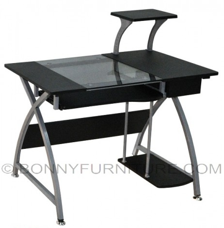 a-49 computer table black