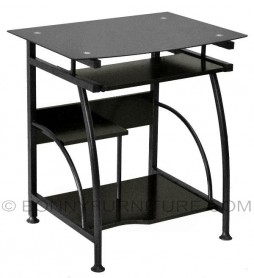 b-3 computer table black