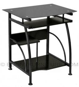b-3 computer table black
