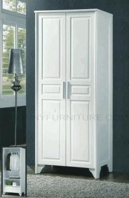 br7129 wardrobe cabinet white