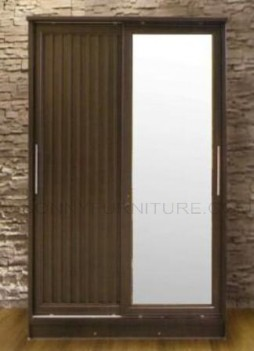 csl1201 sliding door wardrobe with mirror