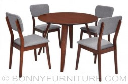 darragh-darcey 4-seaters dining set round table