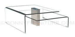 f-201 center table clear glass