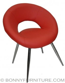 happy bar chair relax chair red