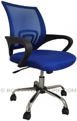 jit-q111 office chair chrome base mesh