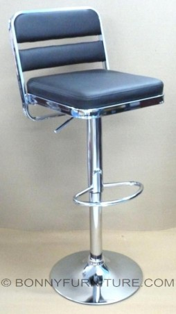 1108 bar stool with footrest