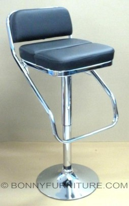 1109 bar stool with footrest