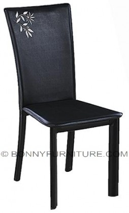 912 dining chair leatherette black