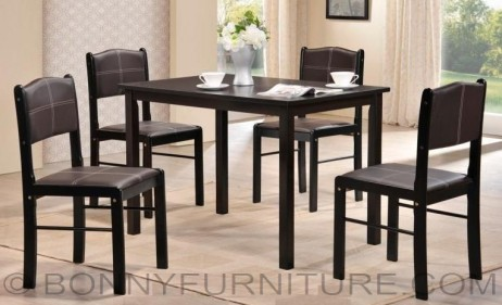 esther dining set 4-seater wooden cushion seat 6-seater