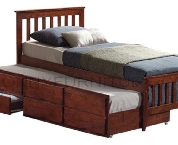 check out bf207 9179b Galvin Trundle Bed (Single/Twin/Double size)