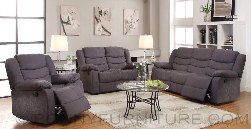 Recliner sofa set 321 bonny furniture for Furniture 321