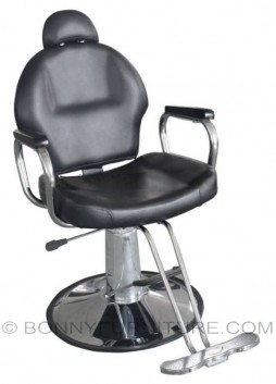 co-036 barber chair leatherette black