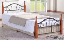 ruth wooden post bed