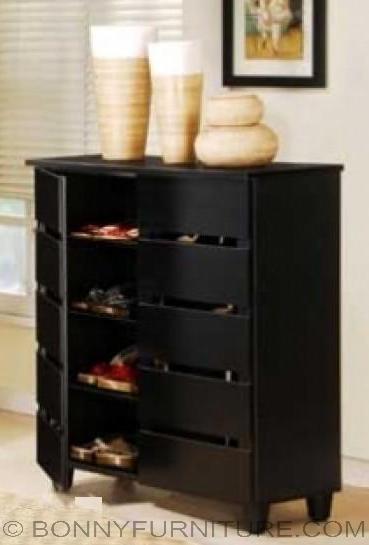 sc-335 shoe cabinet black
