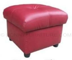 shantel stool square leatherette black